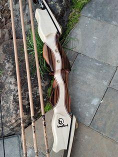 Recurve archery bow Take down 62 AMO by BradfordCreations.