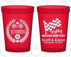 Personalized Party Cups, Personalized Cups, Wedding Cups, Personalized Plastic Cups, Stadium Cups, Party Cups, Plastic Cups (589)