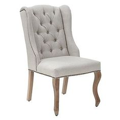 ZGallerie - love this chair for a rustic/eclectic dining room chair / room setup