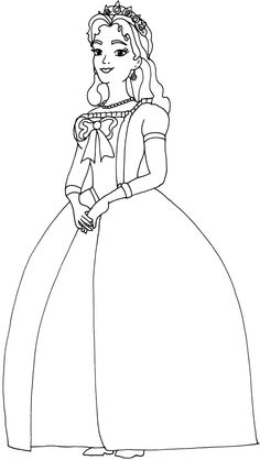 sofia the first coloring pages queen miranda sofia the first coloring page
