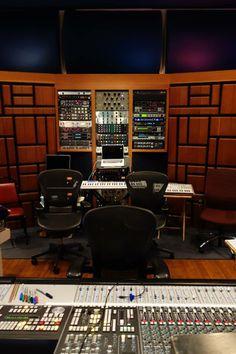 Pharrell Williams music studio consoles
