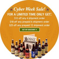 Rare Beer Club, Microbrewed Beer of the Month Club shopping deals now live Beer Of The Month, Beer Online, Beer Club, Buy Beer, Shopping Deals, Cyber, Product Launch, Live, Bottle