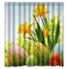 Made Of Waterproof Polyester Fabric With Stylish Designed Pictures. Do Not Bleach Or Tumble Dry. Fitted With C-shaped Curtain Hooks And Has Holes To Which Rings Attach. Soft And Comfortable Handing Feeling , Environmentally Friendly . Flower Shower Curtain, Shower Curtain Sizes, Custom Shower Curtains, Fabric Shower Curtains, Holiday Shower Curtains, Coloring Easter Eggs, Grey Cats, The Darkest, Table Decorations