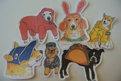 Stylish Dogs pack 3 by MonnyMeetu on Etsy