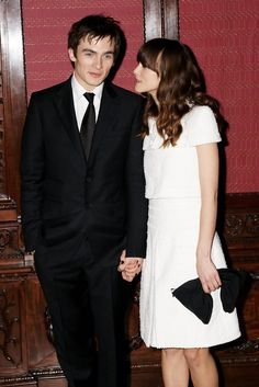 "Keira Knightley Photos Photos - (UK TABLOID NEWSPAPERS OUT) Rupert Friend and Keira Knightley attend the world premiere afterparty for ""The Young Victoria"" held at Kensington Palace, Kensington on March 3, 2009 in London, England.  (Photo by Dave Hogan/Getty Images) * Local Caption * Keira Knightley;Rupert Friend - UK Film Premiere: The Young Victoria - Afterparty"