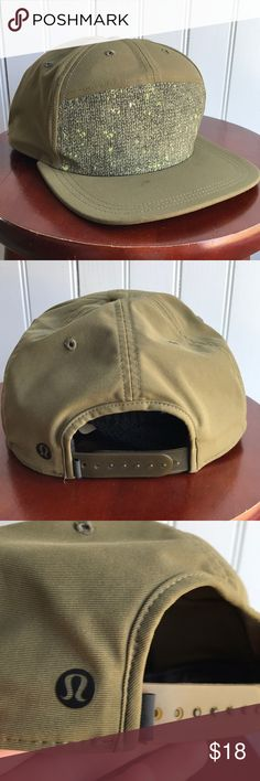 """Lululemon Men's Hat GUC Lululemon """"dependable"""" cap. Priced as-is for a few small spots, not very noticeable while wearing, otherwise in great shape. lululemon athletica Accessories Hats"""