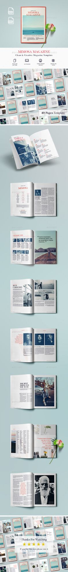 40 Pages Magazine