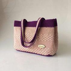 8ba5cac0439101 Crochet Bags, Baby Shoes, Burlap, Reusable Tote Bags, Crochet Purses, Purses