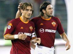Francesco Totti & Vicent Candela - AS Roma