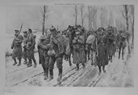 Winter Conditions in the Yser Country (World War I) (Limited Edition Print) (Signed)