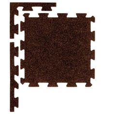 Apache Mills Pecan 37 in. x 54 in. Plush Tiles-60-684-1416-03700054 at The Home Depot