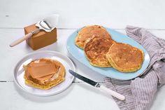 Disse lappene med Cottage Cheese, toppet med brunost, er perfekte både før og etter trening.