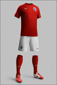 Nike England Home & Away World Cup Kits