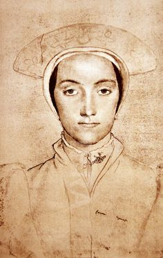 portrait of an unknown woman, by Hans Holbein the Younger (c.