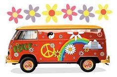 Resultado de imagem para kombi customizada hippie