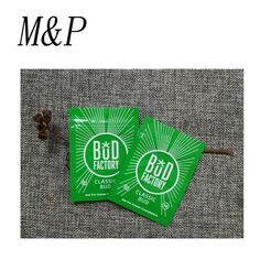 1g wholesale BUD factory small zipper tobacco pouch bag