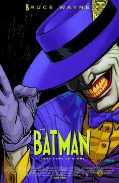 BATMAN #40 inspired by THE MASK, with cover art by Dave Johnson