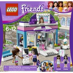 Lego Friend's Beauty Shop.  Because building must be paired with beauty if you're a girl.
