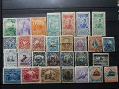 a el salvador buen conjunto de sellos y series clasicas