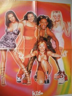 Poster Cartaz Spice Girls Banda Pop Anos 90 Tamanho Grande - R$ 10,00