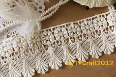 Cotton Lace Trim Off White Cotton Venice Lace by ILoveCraft2012, $5.99....use as dress or shirt extender