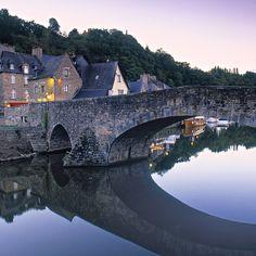 Dinan France... the Rance River