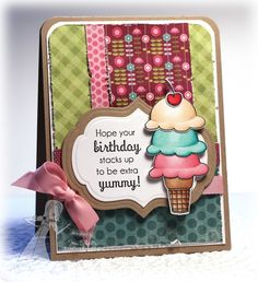 Hope Your Birthday Stacks Up by Jen Shults
