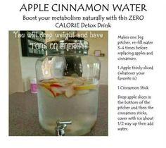 Apple/cinnamon drink