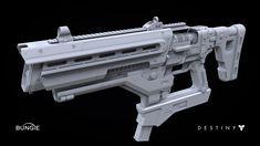 Destiny:  Fusion Rifle 1B, Milton Cadogan on ArtStation at http://www.artstation.com/artwork/destiny-fusion-rifle-1b-07f486c9-6265-41e2-9e63-4419a7c988b6