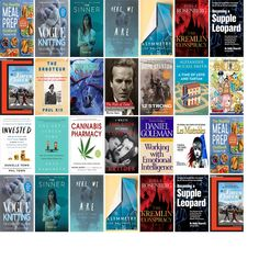 """Saturday, February 17, 2018: The Framingham Public Library has 14 new bestsellers and six other new books in the Top Choices section.   The new titles this week include """"The Healthy Meal Prep Cookbook: Easy and Wholesome Meals to Cook, Prep, Grab, and Go,"""" """"Vogue Knitting The Ultimate Knitting Book: Completely Revised & Updated,"""" and """"The Sinner: Season One."""""""