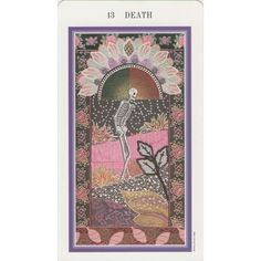 Death, Tarot Card ❤ liked on Polyvore featuring fillers, pictures, backgrounds, tarot, art, detail and embellishment