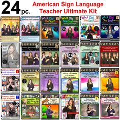 24-Piece ASL Teacher Ultimate Kit - FREE S&H