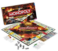 It's a five-alarm emergency on the special Firefighters Edition of Monopoly, honoring the men and women of the fire and rescue service worldwide.