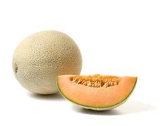 Pretty much any variety of cantaloupe can be grown in a container, and you can either let the vines spill over the sides or use a support. Growing Cantaloupe, Growing Melons, Growing Plants, Growing Vegetables, Garden Yard Ideas, Lawn And Garden, Fruit Garden, Garden Plants, Vegetable Garden