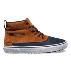 e4ffceeef5 The Sk8-Hi Del Pato MTE is a duck-boot-inspired Sk8-. Vans