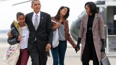 Während seiner Amtszeit zeigte sich der ehemalige amerikanische Präsident oftmals im Kreise seiner Familie. Quelle: AFP