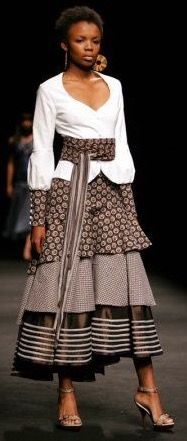 South African Fashion, African Inspired Fashion, African Print Fashion, Africa Fashion, African Fashion Dresses, Ethnic Fashion, African Prints, Xhosa Attire, African Attire