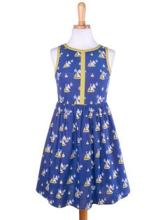 $19.99 Summerfest dress sailboats