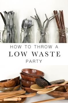 How to throw a simple low waste party with this one easy trick! - How to throw a simple low waste party with this one easy trick! How to throw a simple low waste party with this one easy trick! Plastik Recycling, Going Zero Waste, Sustainable Living, Sustainability, Eco Friendly, Gift Ideas, Party Ideas, Party Party, Parties