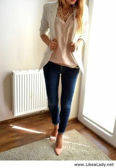 cute, but most likely wouldn't wear blazer