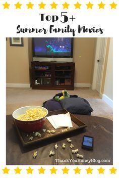 Top 5 Summer Family Movie #DataAndAMovie #ad http://thankyouhoneyblog.com