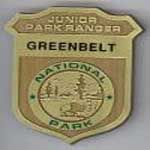 a picture of the Greenbelt Park Junior ranger badge