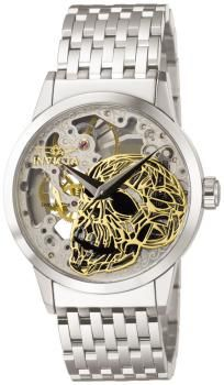 Mechanical Skull Dial 2 Hand All Ss Invicta Watches