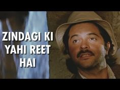 'Zindagi Ki Yahi Reet Hai' Full Video Song - Anil Kapoor - Mr. India - Kishore Kumar - YouTube
