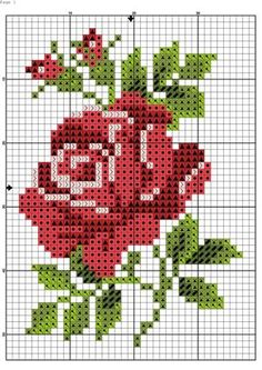 Thrilling Designing Your Own Cross Stitch Embroidery Patterns Ideas. Exhilarating Designing Your Own Cross Stitch Embroidery Patterns Ideas. Cross Stitch Borders, Cross Stitch Charts, Cross Stitch Designs, Cross Stitching, Cross Stitch Embroidery, Cross Stitch Patterns, Cross Stitch Flowers Pattern, Hand Embroidery, Flower Embroidery Designs