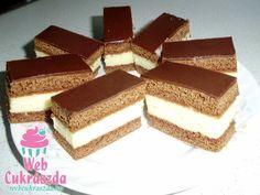 Mézes tejszelet Cookie Recipes, Dessert Recipes, Vanilla Cake, Tiramisu, Paleo, Goodies, Cooking, Ethnic Recipes, Sweet