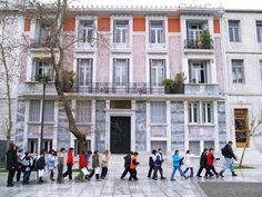 Areopagitou Street, Athens, Greece