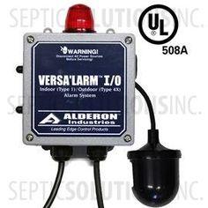 Alderon VersAlarm I/O Indoor/Outoor High Water Alarm with 6' Power Cord, 30' Mechanical Float