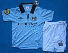 Manchester City Kit Infantil 2012 2013  242  - €16.87   Camisetas de 8351f32d87021