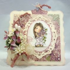New Year Sakura Tilda from the Winter Wonderland collection and some gorgeous Pion Fairy Tale of Spring DP http://julieprice3.wordpress.com/2014/02/05/crafting-by-designs-gdt/